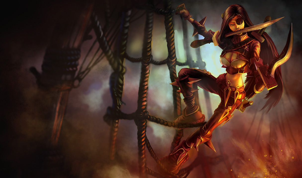 Pirate League Of Legends Katarina Wallpaper Funny Wallpapers