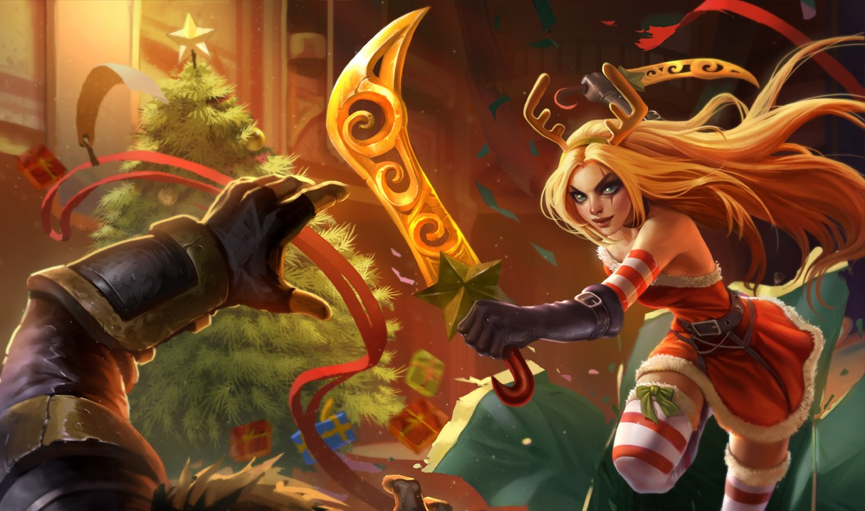 Swords of Katarina league of legends themes for PC