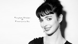 Krysten Ritter black and white