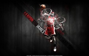 LeBron James art picture