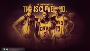 Cliveland LeBron James walls