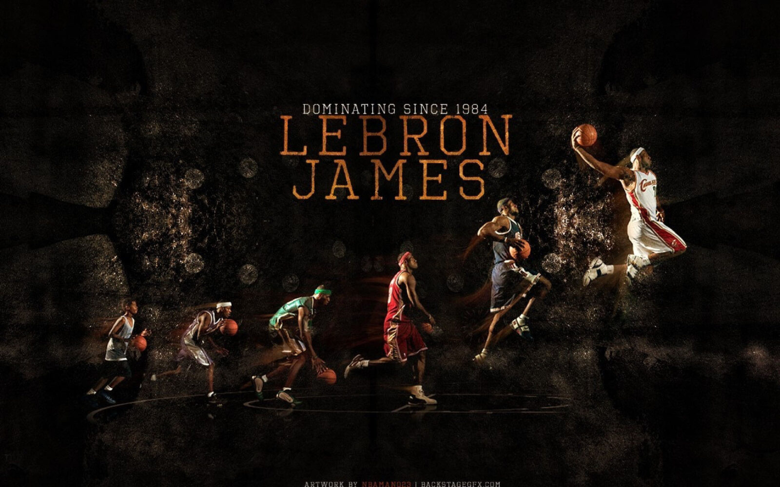 48 LeBron James Wallpapers HD Free Download