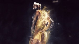 LeBron James full HD image