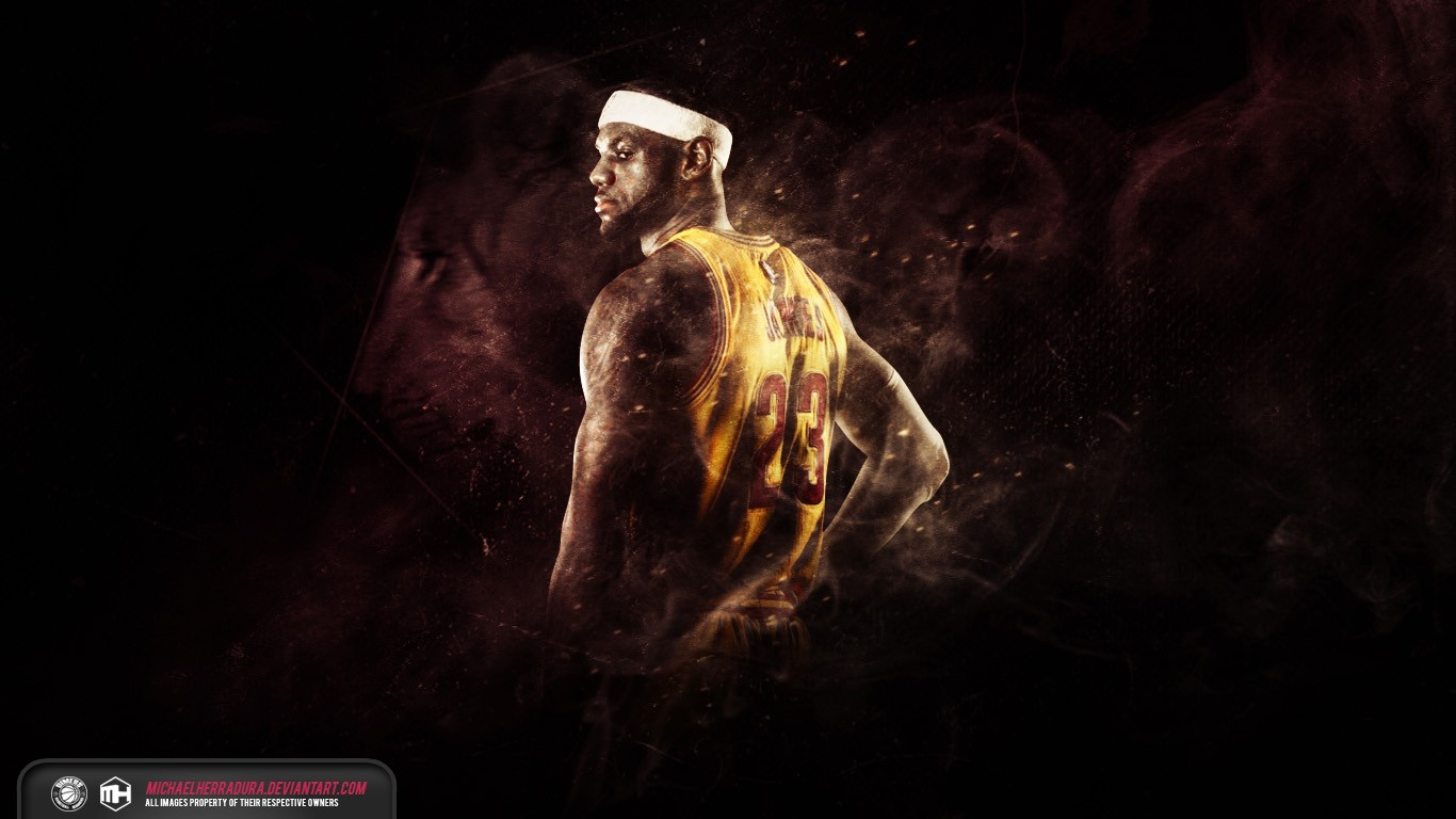 Cool LeBron James Fire