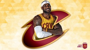 Photo of Lebron James Cavs
