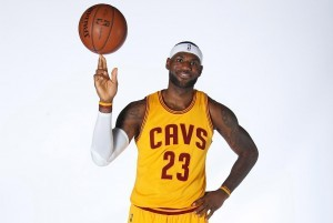 Lebron James basketball wallpaper