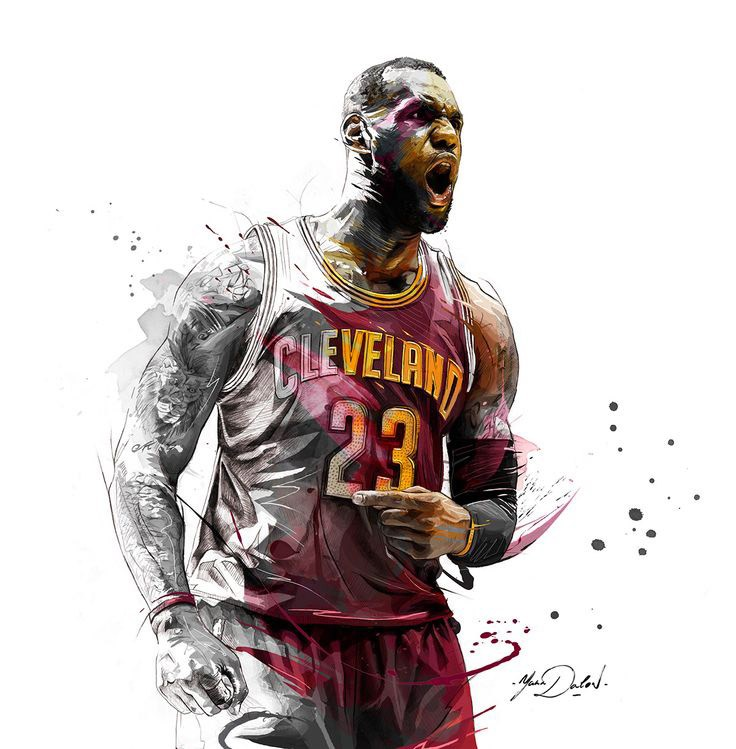 Lebron James Wallpaper Iphone: 48+ LeBron James Wallpapers HD Free Download