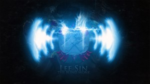 Lee Sin League of Legends Logo