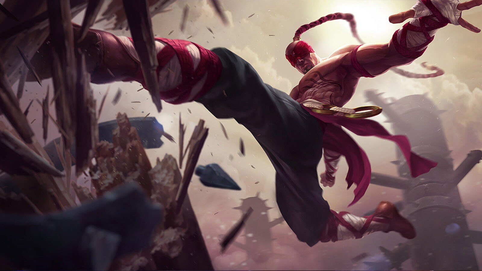 Lee Sin League of Legends 1080p