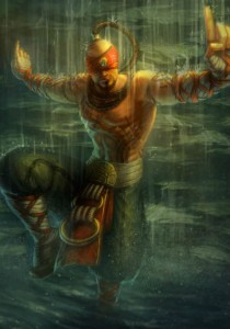 Lee Sin League of Legends vertical