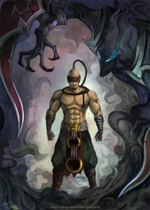 Lee Sin League of Legends for mobiles