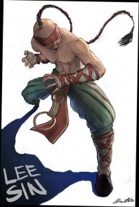 Lee Sin League of Legends iPhone