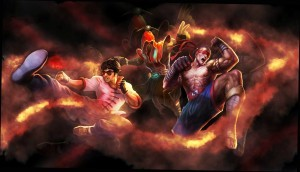 Lee Sin League of Legends background