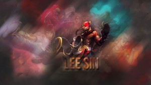 Lee Sin League of Legends desktop