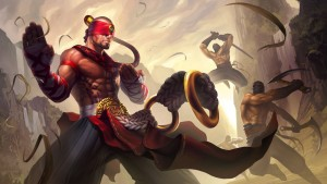 Lee Sin League of Legends combat