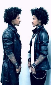Les Twins vertical