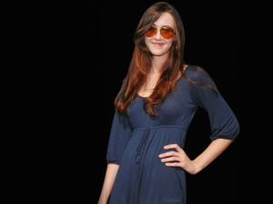 Madeline Zima black background