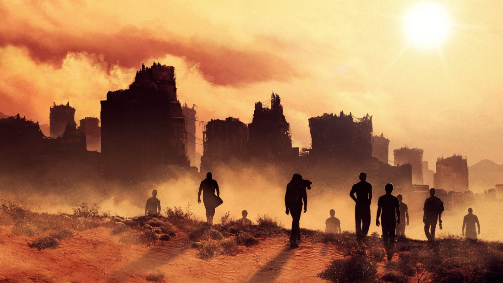 Maze Runner The Scorch Trials full HD