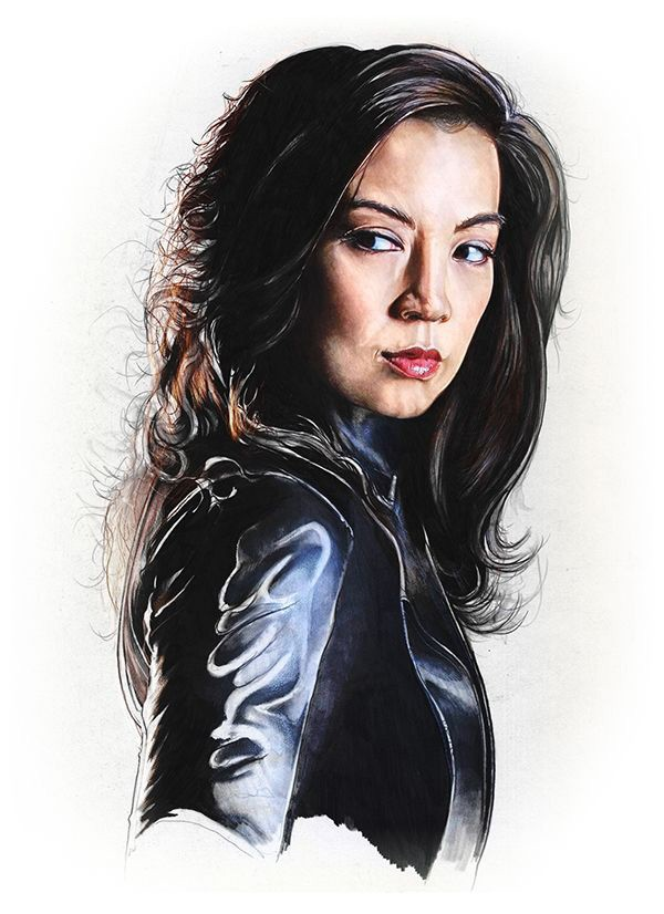 Iphone wallpaper anime hd - 20 Ming Na Wen Wallpapers Hd Free Download