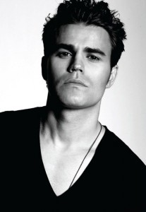 New wallpapers Paul Wesley black and white
