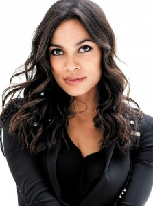 Rosario Dawson curly hairstyle photo