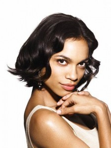 Wallpaper Rosario Dawson iPhone