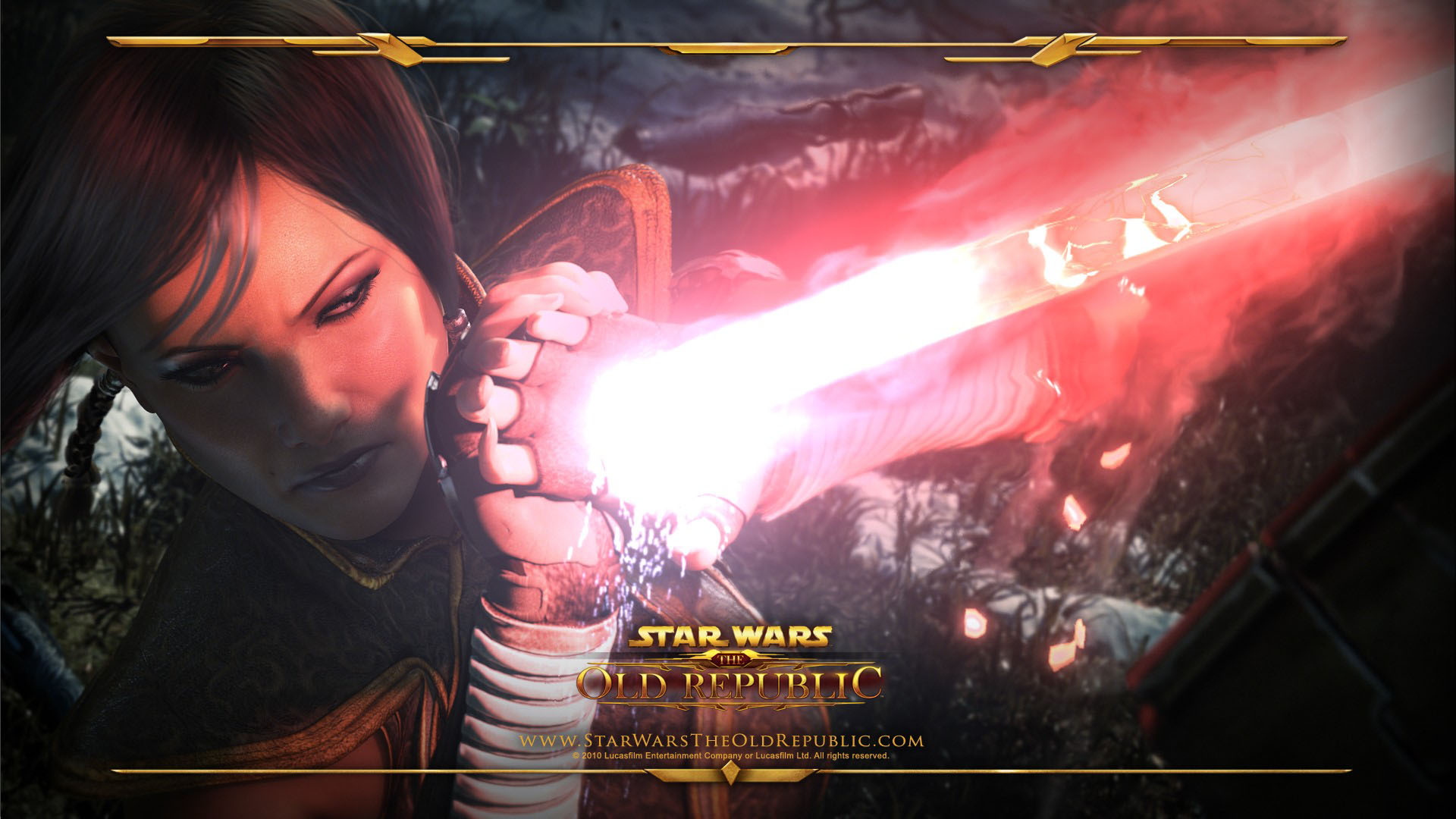 Star Wars the Old Republic widescreen