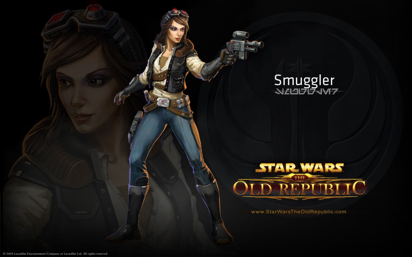 Star Wars the Old Republic smuggler HD background
