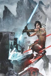 Star Wars the Old Republic girl with sword for Android