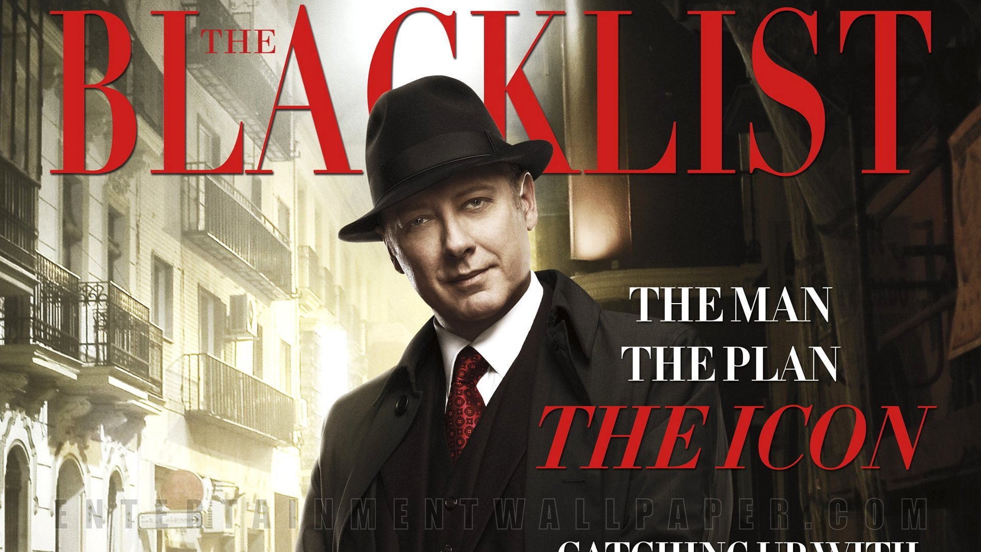 The Blacklist TV series 1920x1080p HD
