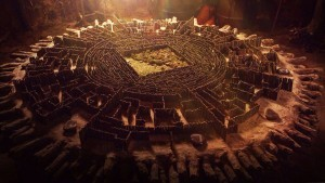 The Maze Runner labyrinth for desktop