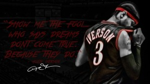 Best Theme Allen Iverson black background