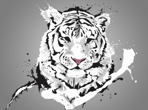 Tiger vector HD picture