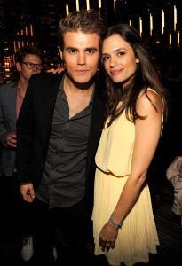 Torrey Devitto with groom paul wesley