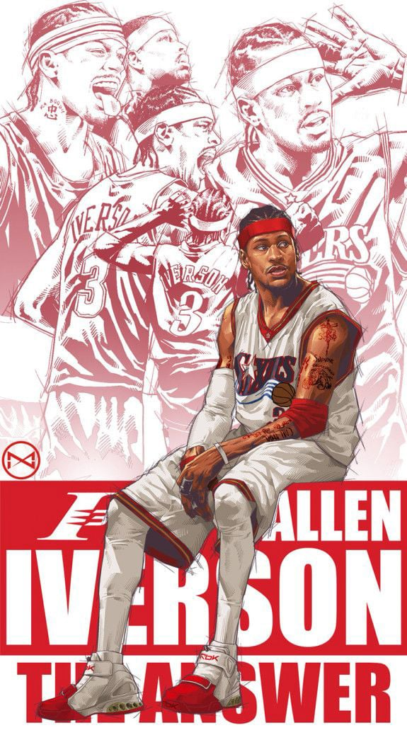 allen iverson wallpaper download