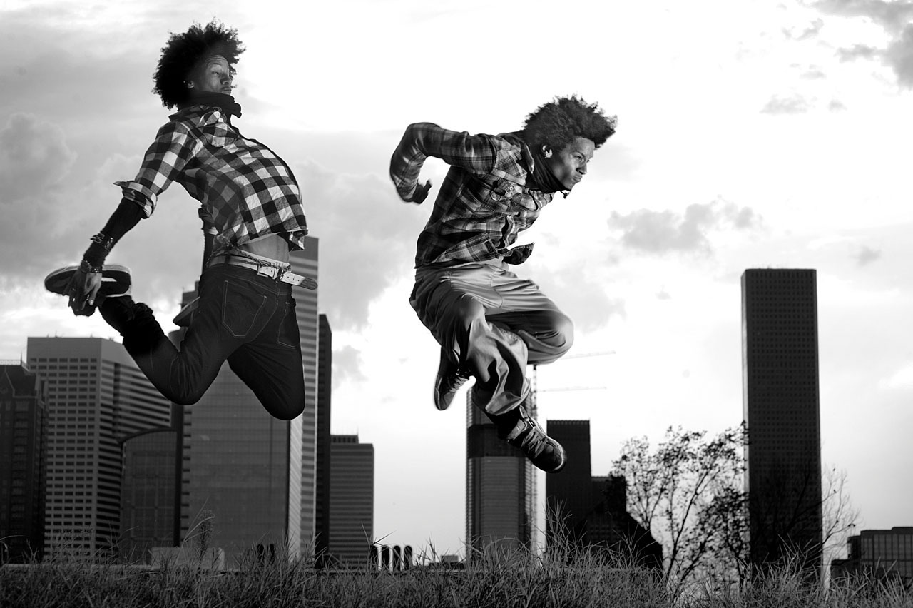 Les Twins wallpaper