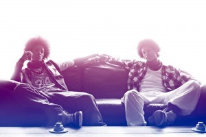 Les Twins background