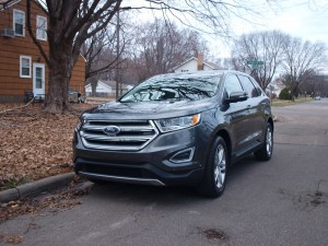 2015 Ford Edge titanium HD wallpapers