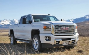 2015 GMC Sierra Denali white HD for desktop