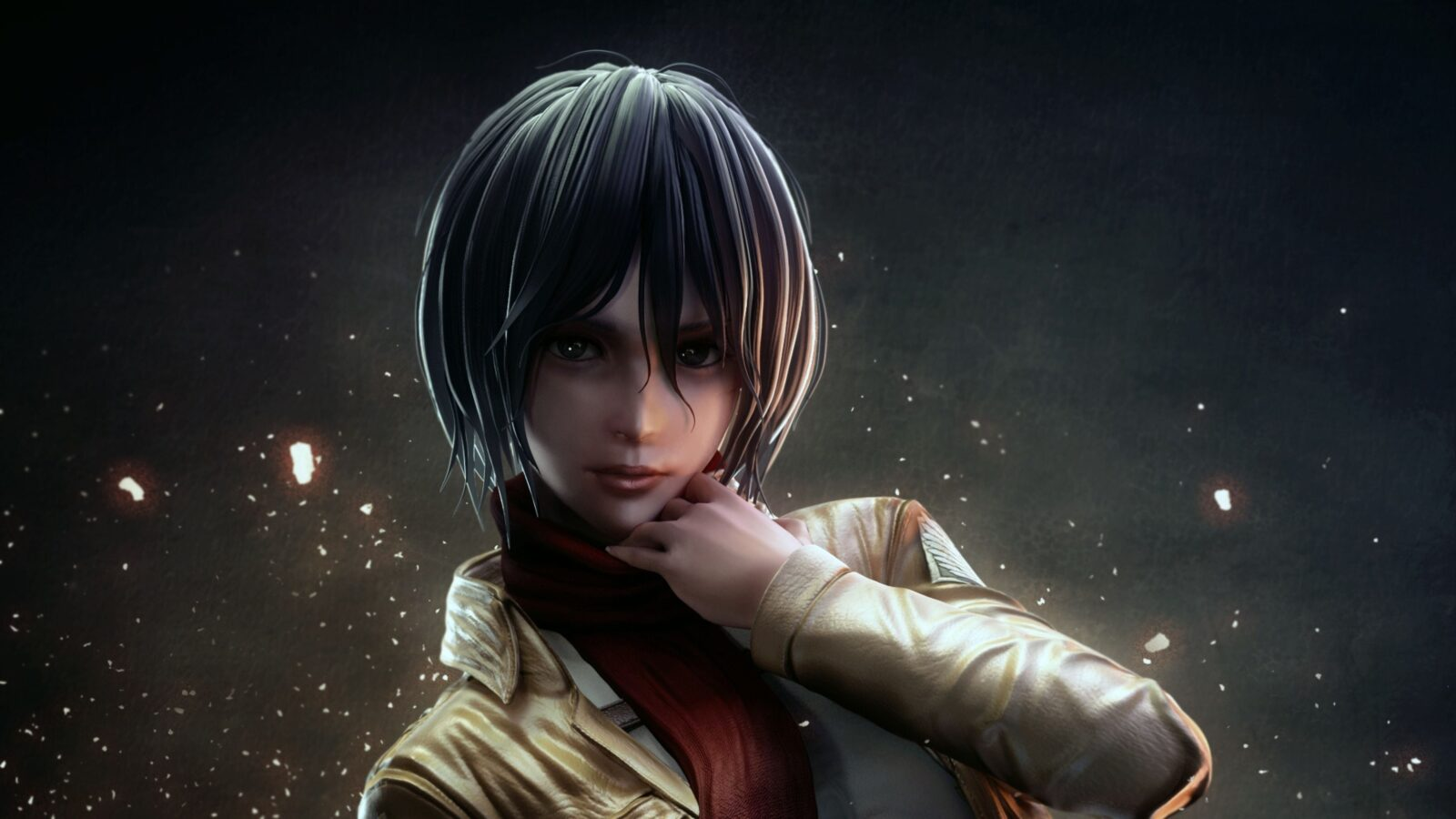 4k Ultrahd Mikasa Ackerman Attack On Titan Wallpaper Hd