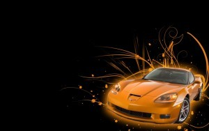 Abstract Chevrolet Corvette C6 Z06 HD photo