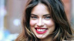Best image of Adriana Lima smile