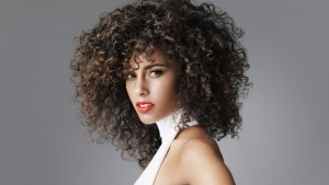Alicia Keys curly hair widescreen