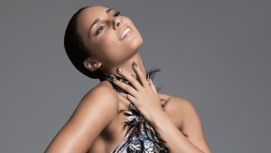 Alicia Keys feather dress themes for PC