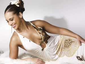 Best image of Alicia Keys in dress