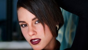 photo of Alicia Keys short hair