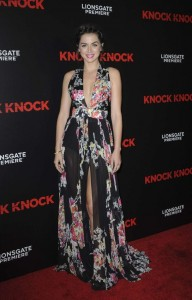 Ana de Armas knock knock dress vertical pic