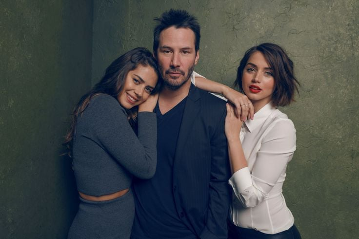 Best image of Ana de Armas with Keanu Reeves