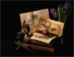 Antique book full HD image