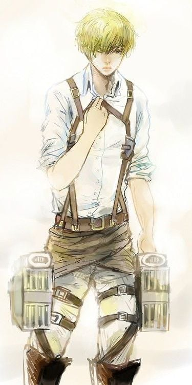 Armin Arlert Attack On Titan for iPhone HD image